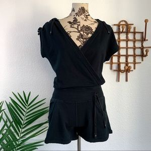Lululemon Black Work It Romper